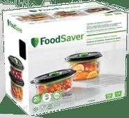 FoodSaver Fresh 2.0 Container 0.7 L + 1.2 L