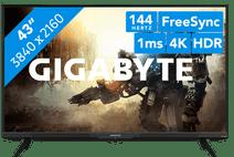 Gigabyte AORUS FV43U Zakelijke 4K monitoren