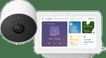 Google Nest Cam + Google Nest Hub 2