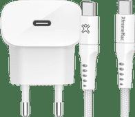 Belkin Power Delivery Oplader 20W + Lightning Kabel 2,5m Nylon Wit