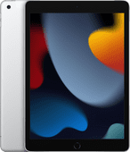 Apple iPad (2021) 10.2 inch 256GB Wifi + 4G Zilver Apple iPad