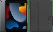 Apple iPad (2021) 10.2 inch 256GB Wifi Space Gray + Targus Book Case Zwart