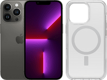 Apple iPhone 13 Pro 128GB Grafiet + Otterbox Symmetry Plus Back Cover Transparant
