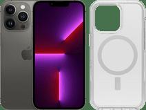 Apple iPhone 13 Pro 256GB Grafiet + Otterbox Symmetry Plus Back Cover Transparant