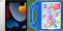 Apple iPad (2021) 10.2 inch 64GB Wifi Zilver + Just in Case Kinderhoes Blauw