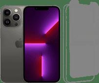 Apple iPhone 13 Pro 256GB Grafiet + InvisibleShield Glass Elite Screenprotector