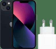 Apple iPhone 13 128GB Zwart + Apple Usb C Oplader 20W