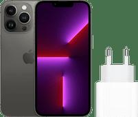 Apple iPhone 13 Pro 128GB Grafiet + Apple Usb C Oplader 20W