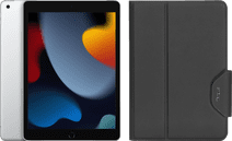 Apple iPad (2021) 10.2 inch 256GB Wifi + 4G Zilver + Targus Book Case Zwart
