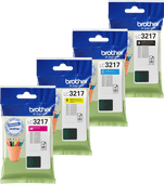 Brother LC-3217 Cartridge Combo Pack