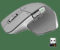 Logitech MX Master 3 Draadloze Muis Grijs Ergonomische muizen