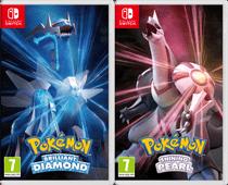 Pokemon Brilliant Diamond + Pokemon Shining Pearl