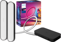 Philips Hue Play HDMI Sync Box + 75+ inch lightstrip + Play Bar Zwart