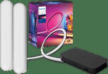 Philips Hue Play HDMI Sync Box + 75+ inch lightstrip + Play Bar Wit