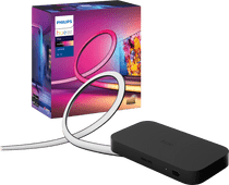 Philips Hue Play HDMI Sync Box + Philips Hue Play Gradient Lightstrip 75+ inch