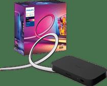 Philips Hue Play HDMI Sync Box + Philips Hue Play Gradient Lightstrip 55+ inch