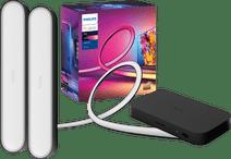 Philips Hue Play HDMI Sync Box + 55+ inch lightstrip + Play Bar Zwart