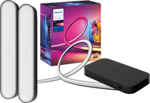Philips Hue Play HDMI Sync Box + 65+ inch lightstrip + Play Bar Zwart