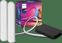 Philips Hue Play HDMI Sync Box + 65+ inch lightstrip + Play Bar Wit
