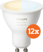 Philips Hue White Ambiance GU10 Bluetooth 12-Pack