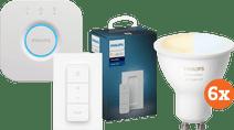 Philips Hue White Ambiance GU10 Bluetooth Starter 6-Pack