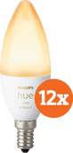 Philips Hue White Ambiance E14 Bluetooth 12-Pack