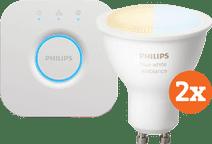Philips Hue White Ambiance GU10 Bluetooth Starter 2-Pack