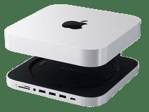 Satechi Aluminum Mac Mini Stand Hub Zilver
