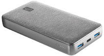 Cellularline Shade Powerbank 20.000 mAh met Power Delivery en Quick Charge