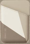 Decoded met Nike Grind materiaal Kaarthouder voor iPhone met MagSafe Bruin