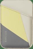 Decoded met Nike Grind materiaal Kaarthouder voor iPhone met MagSafe Geel