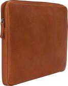 BlueBuilt 15 inch Laptophoes breedte 35 cm - 36 cm Leer Cognac Laptophoes voor 15 inch laptops
