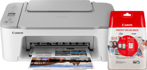 Canon PIXMA TS3451 Wit + XL Cartridges + Fotopapier Canon all-in-one printers