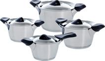 BK Q-Linair Classic Cookware Set 4-piece