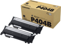 Samsung CLT-P404B Toner Cartridges Black Duo Pack