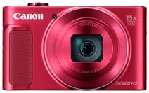 Canon Powershot SX620 HS Rood