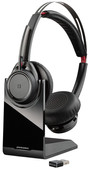 Plantronics Voyager Focus B825-M Bluetooth With Base Station