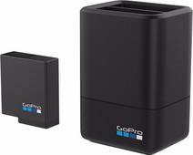 GoPro Double chargeur de batterie + Batterie (HERO 2018 + HERO 5, 6 + 7 Noir)