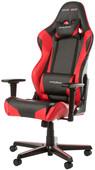 DXRacer RACING Gaming Chair Zwart/Rood