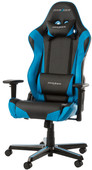 DXRacer RACING Fauteuil de Gaming Noir/Bleu