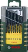 Bosch Set de Forets à Métal HSS-TiN 19 Pièces
