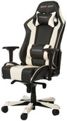 DXRacer KING Gaming Chair Zwart/Wit