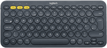 Logitech K380 Wireless Keyboard AZERTY Gray
