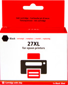 Pixeljet 27XL Cartridge Zwart
