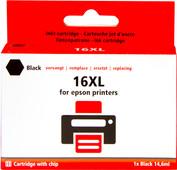 Pixeljet 16 XL Cartridge Zwart voor Epson printers (C13T16314010)