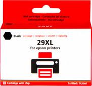 Pixeljet 29 XL Zwart voor Epson printers (C13T29914010)