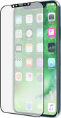 Azuri Curved Case Friendly Apple iPhone 11 Pro/Xs/X Screen Protector Glass Black Edge