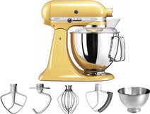 KitchenAid Artisan Mixer 5KSM175PS Pastelgeel KitchenAid keukenrobots