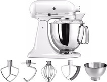KitchenAid Artisan Mixer 5KSM175PSEWH Wit KitchenAid keukenrobots